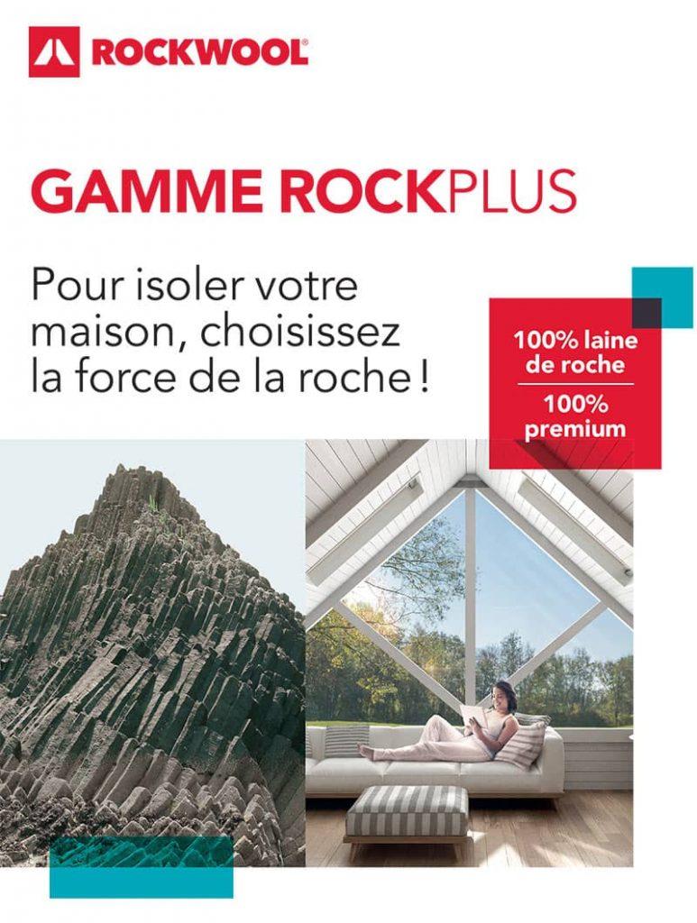 Affiche publicitaire pour Rockwool by AKATOA