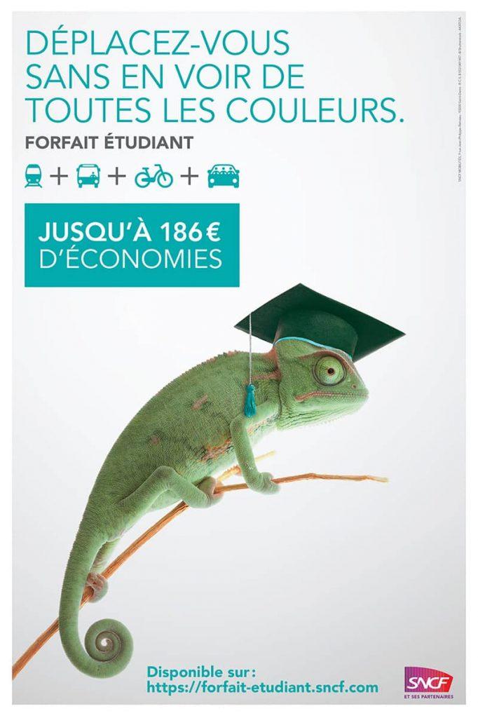 Campagne forfait étudiant SNCF
