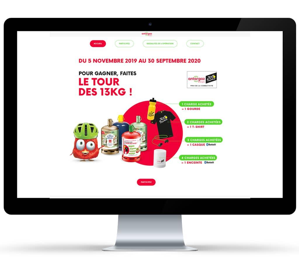 Site promotion Butane 13 kg by Akatoa