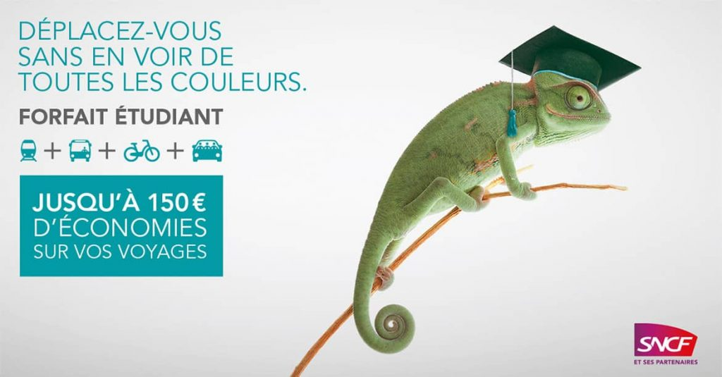 Forfait Etudiant SNCF by AKATOA