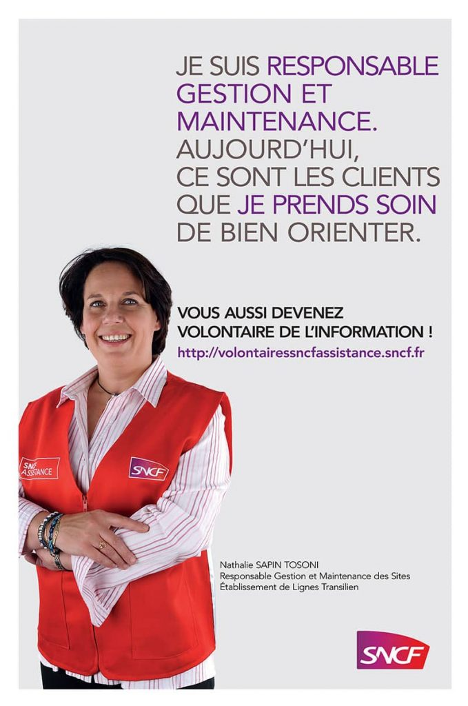 Affiche volontaires de l'information