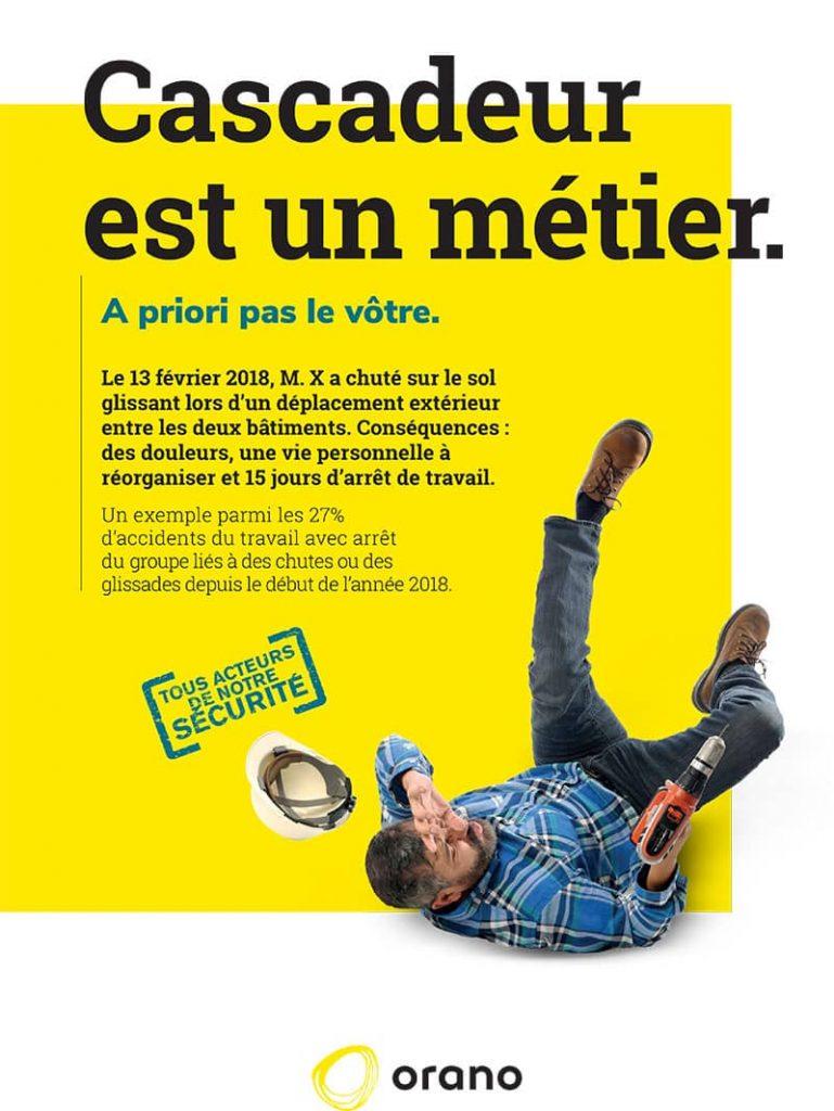 Campagne de sécurité pour Orano by AKATOA