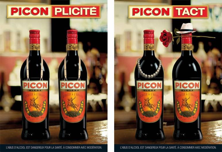 Affiche publicitaire pour Picon