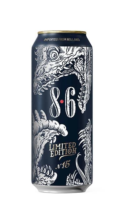 packaging bière 8.6 édition limitée