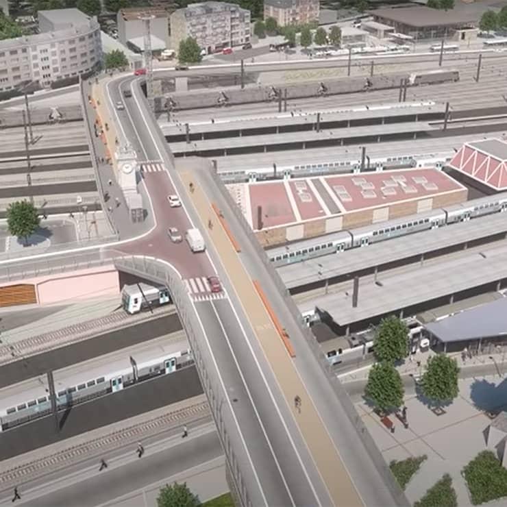Film 3D SNCF GPI Juvisy
