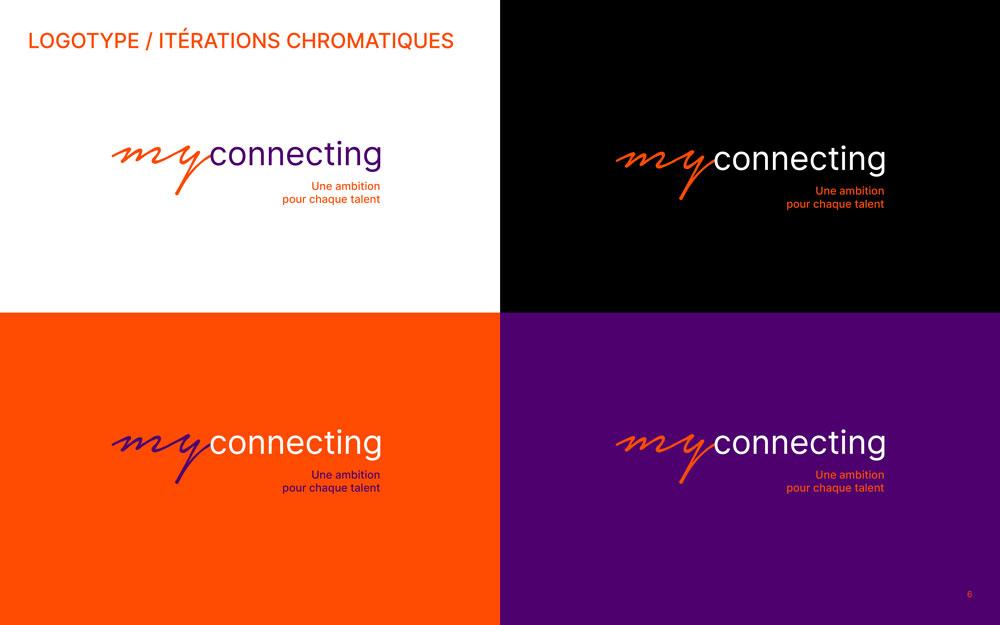 MyConnecting logo