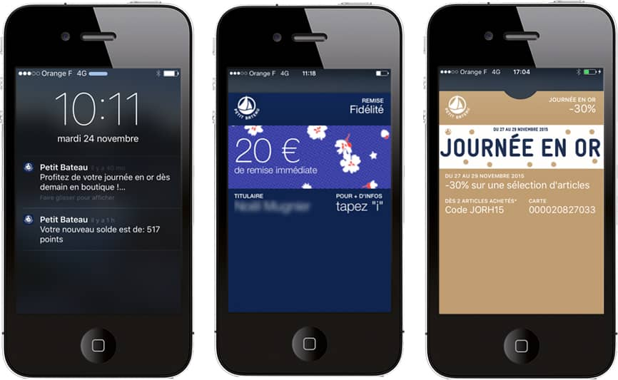 Programme de fidélisation Petit Bateau avec Smartecard