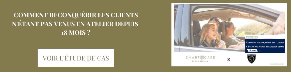 Comment reconquérir les clients Peugeot n'étant pas venus en atelier depuis 18 mois ?