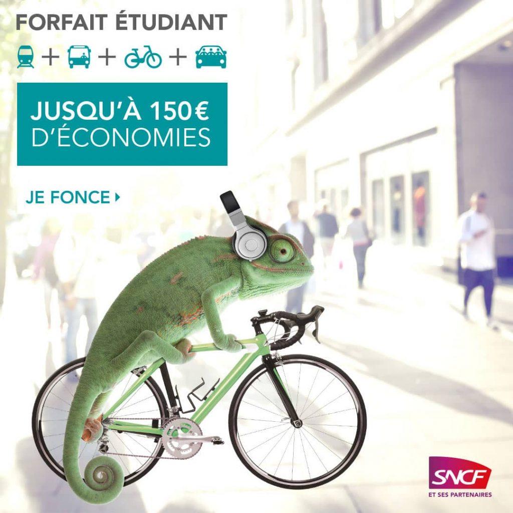 SNCF forfait étudiant