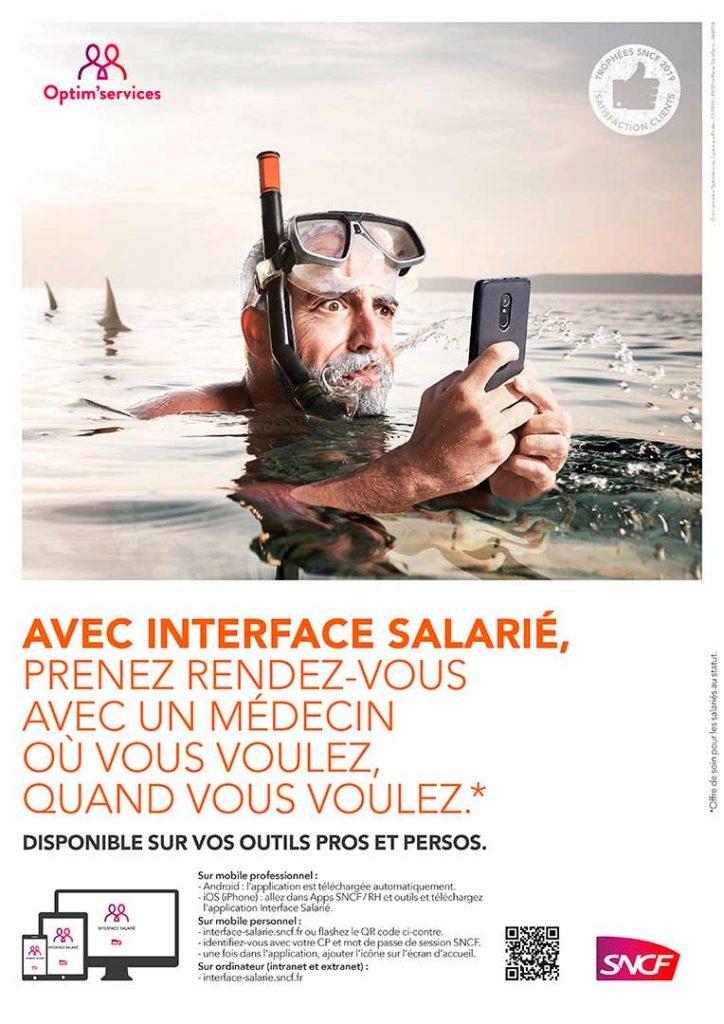 campagne interface salarié SNCF m