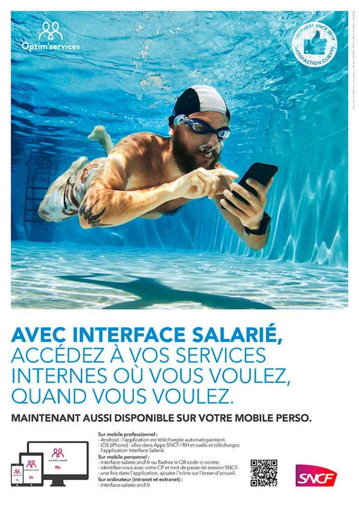 campagne interface salarié SNCF générique