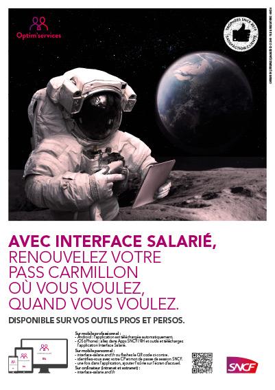 affiche interface salarié sncf p
