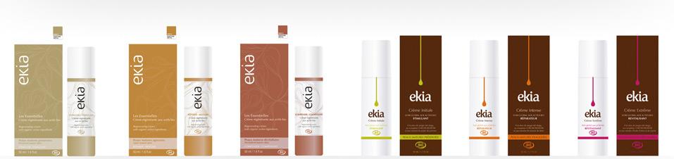 Soins visage Ekia aux actifs bio