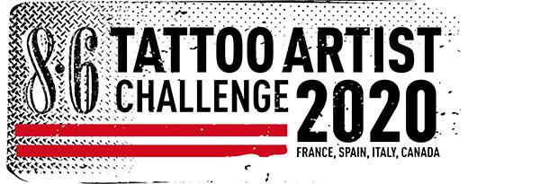 8.6 Tattoo artist challenge 2020