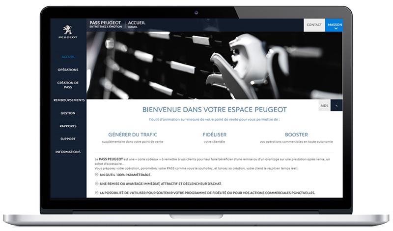 Site client Pass Peugeot
