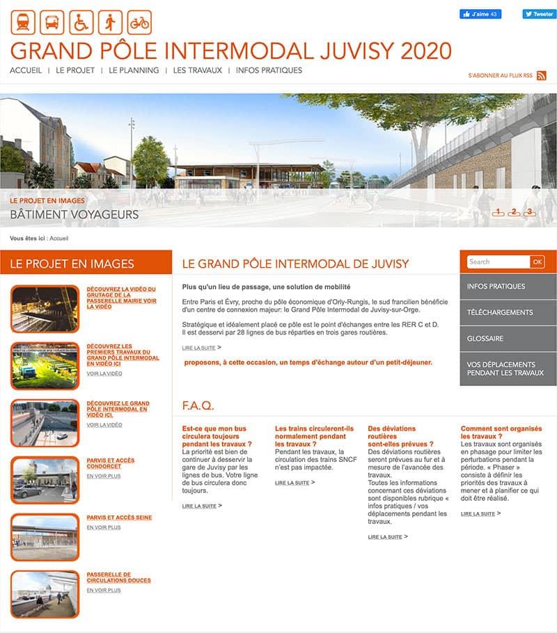 Site SNCF