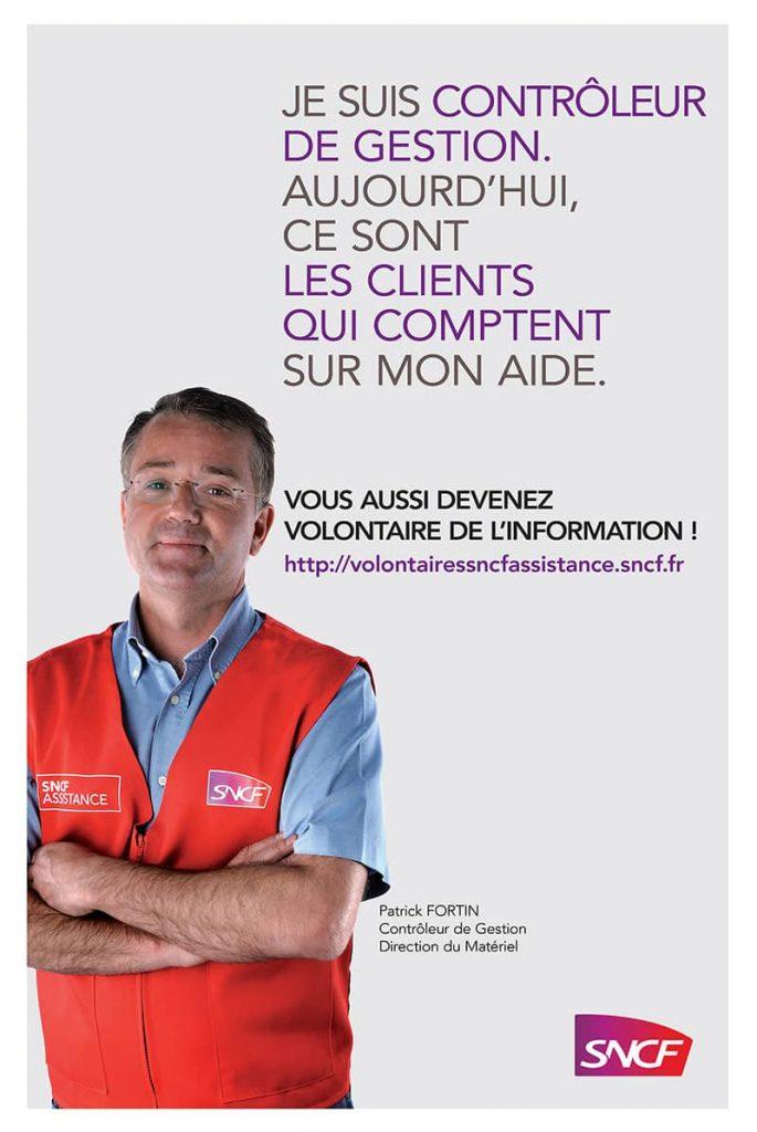 SNCF volontaires de l'information